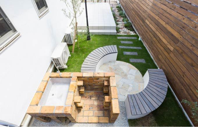 お庭づくり写真2